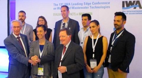 Nace grupo español jóvenes profesionales agua mano AEAS y IWA