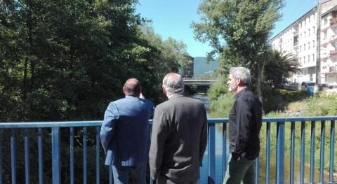 Comienzan obras defensa inundaciones río Cadagua Zalla