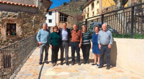 Gobierno riojano renueva redes agua potable y saneamiento Zarzosa