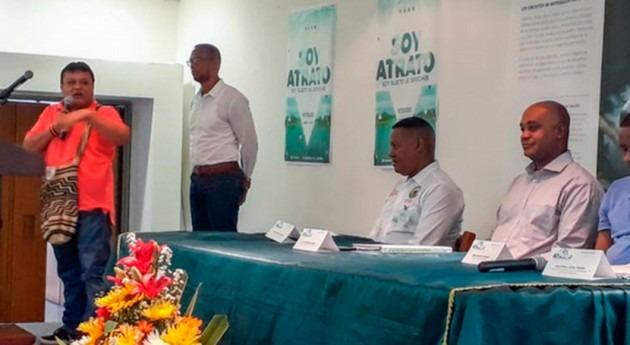 gobierno colombiano expone avances sentencia gestión río Atrato