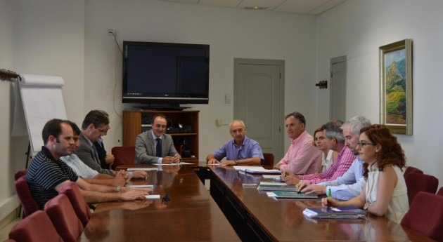 Grupo AN traslada al consejero Esparza satisfacción nuevos regadíos Canal Navarra