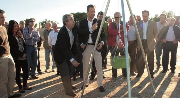 Comienza Yecla construcción embalse agua regenerada beneficio 580 agricultores