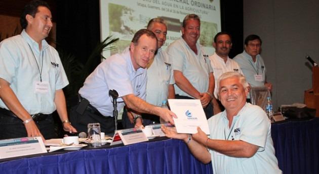 José Luis Luege, Director Conagua México, pone valor importancia regantes alcanzar sustentabilidad hídrica