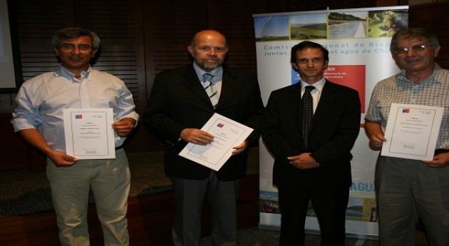 Comisión Nacional Riego elabora ranking consutores riego