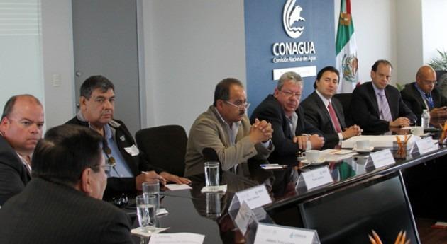 David Korenfeld, director Conagua, se reúne representantes Asociación Nacional Usuarios Riego
