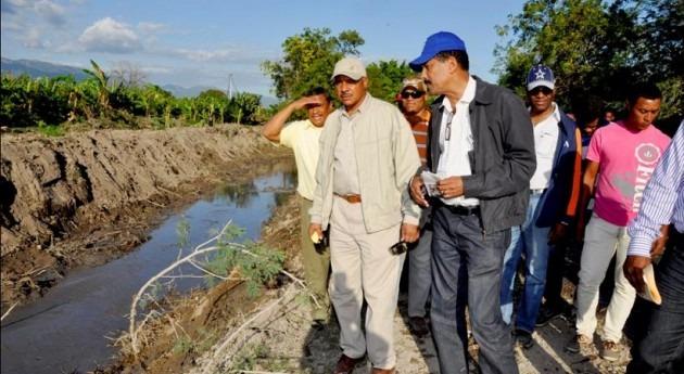 Instituto Nacional Recursos Hidráulicos Dominicana acomete diferentes actuaciones regadíos