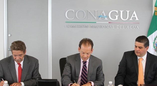 Conagua y Gobierno San Luis Potosí firman convenios construcción presa Maroma y modernización regadíos