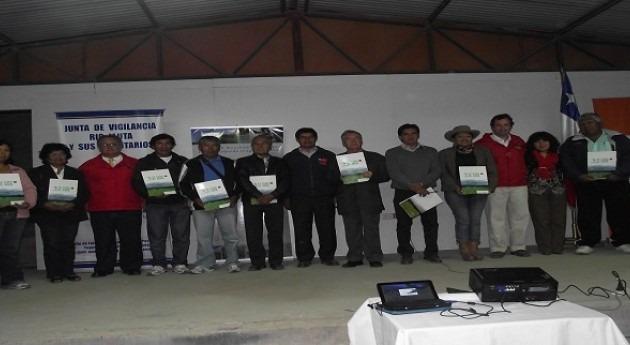 Comisión Nacional Riego entrega 1,3 millones dólares 13 obras modernización regadíos