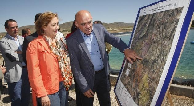 "Consejera Agricultura Castilla Mancha se reúne Comunidad Regantes "" Tedera"""