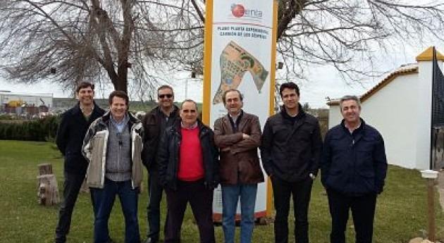 Técnicos Confederación Guadiana visitan CENTA