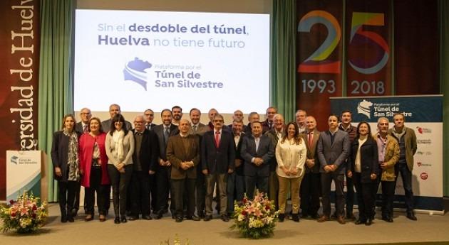 Presentada Plataforma túnel San Silvestre, que solicita desdoble