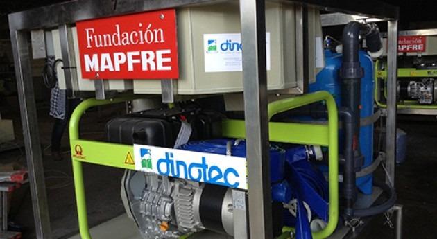 primeras potabilizadoras destino Perú, salen DINOTEC
