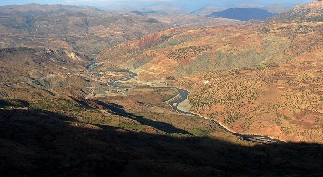 Valle del río Botan, Turquía