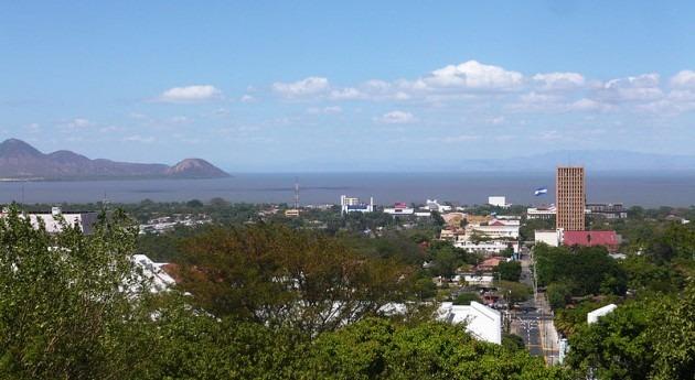 Una vista de Managua (wikipedia)