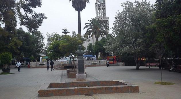 Plaza de Armas de Vallenar (Wikipedia)