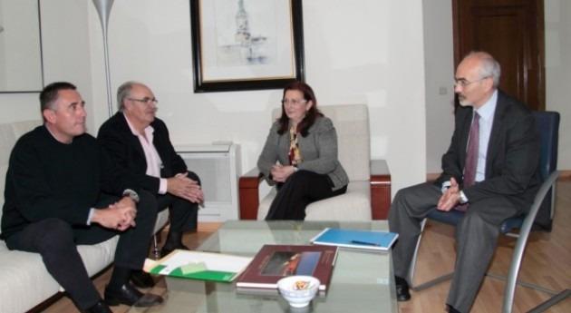 presidenta Confederación Hidrográfica Júcar recibe Asociación Agraria ASAJA Cuenca