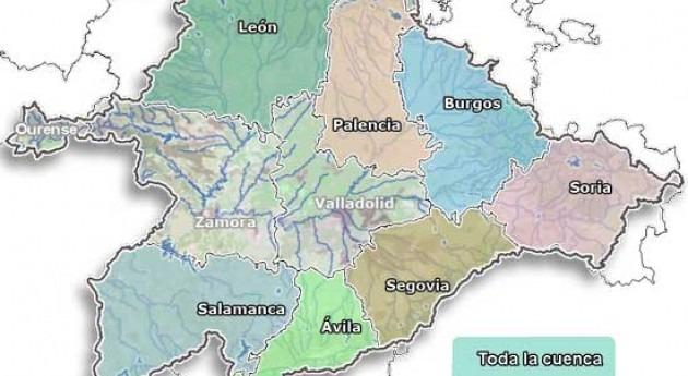 Licitada actualización Inventario recursos hídricos naturales cuenca Duero