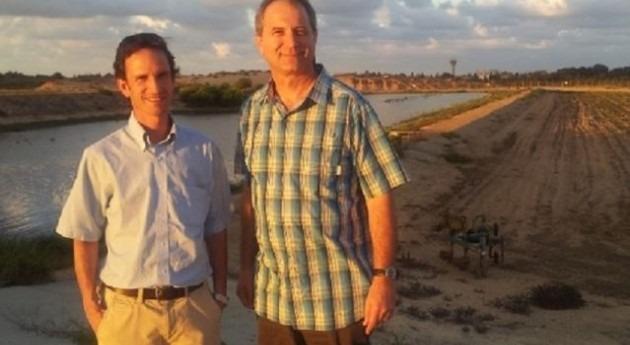 Técnicos chilenos visitan piscinas infiltración Israel y estudian nuevas tendencias riego goteo
