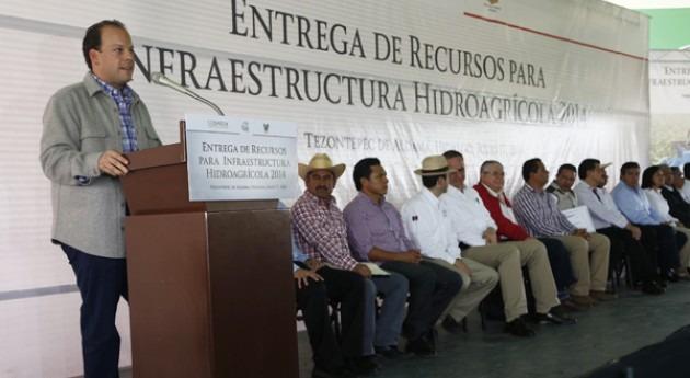 Conagua invierte 26,5 millones dólares infraestructuras regadío Hidalgo