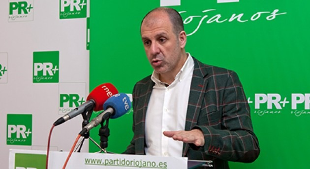 Miguel González Legarra, presidente del Partido Riojano