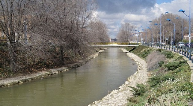Río Esgueva.