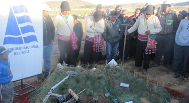 """""""X Festival Riego"""" distrito Cabanilla región Puno promover uso racional y eficiente agua"""