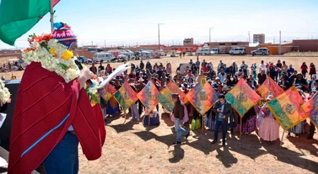 Bolivia mejora abastecimiento agua y saneamiento Laja