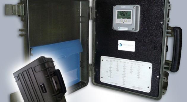 Analizador autónomo cloro red distribución