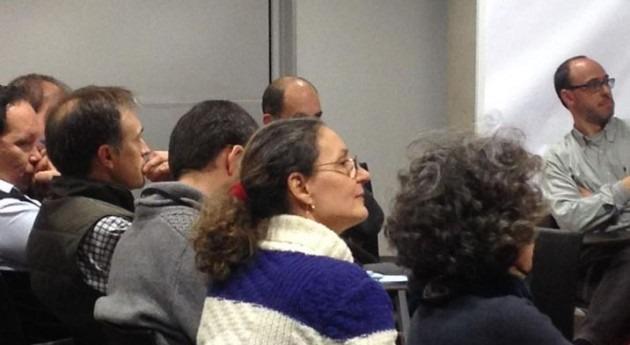 Imagen de la última sesión de participación en Girona (ACA).