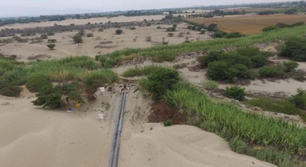 Perú supervisa recarga acuífero Villacurí, que beneficiará al uso agrícola y poblacional