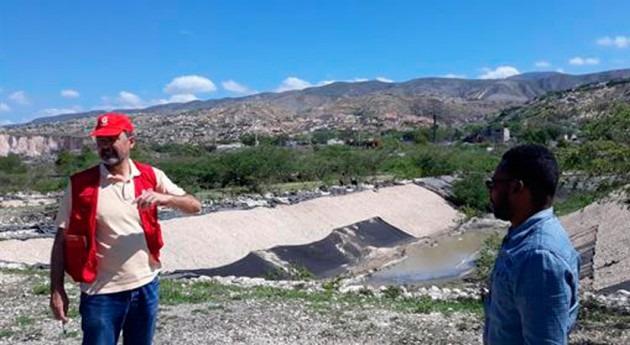 Cooperación instituciones agua españolas y haitianas