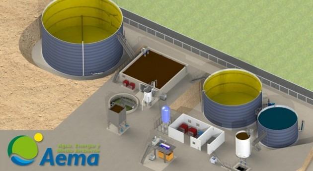 AEMA construye nueva depuradora Industrias Lácteas Monteverde