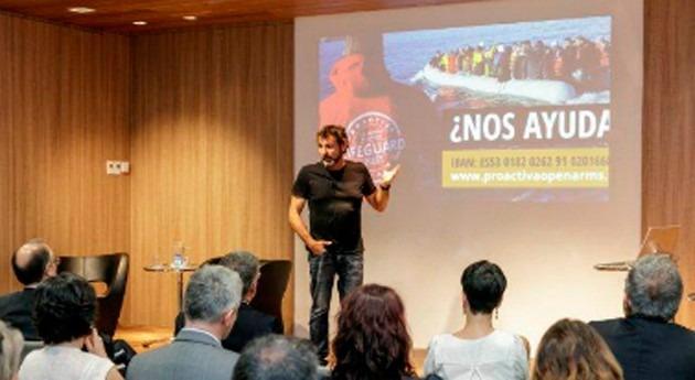 Fundación Agbar pide colaboración adquirir lancha salvamento ayuda refugiados