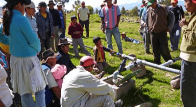 ¿ qué Perú debe modernizar sistemas riego?