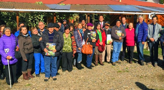 agricultores chilenos Aysén reciben derechos aprovechamiento agua