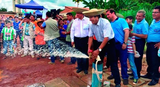Bolivia garantizará agua potable Trinidad