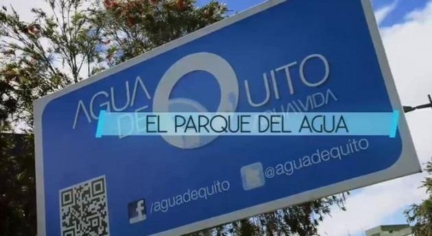 agua Quito fluye digital