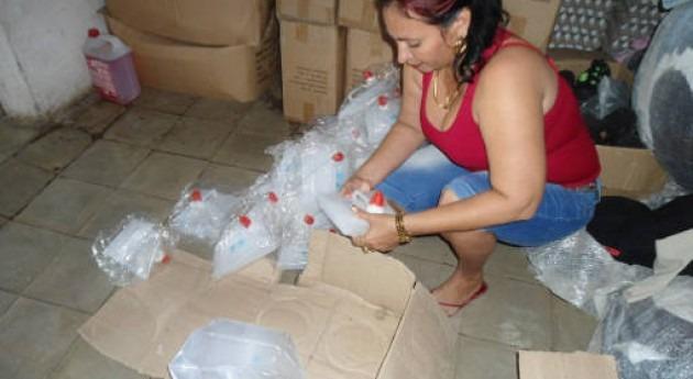 Entregan envases donde almacenar agua potable luchar sequía Cuba