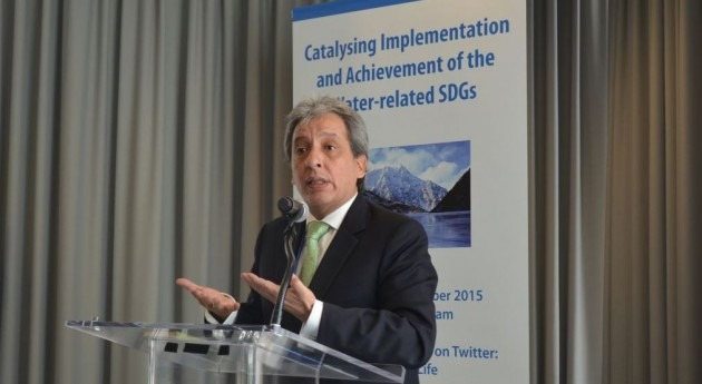 """ cumplir ODS agua hay que vincular agenda agua y debate climático"""