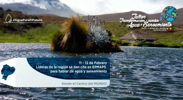 BID y EPMAPS realizan taller internacional gestión cambio agua y saneamiento