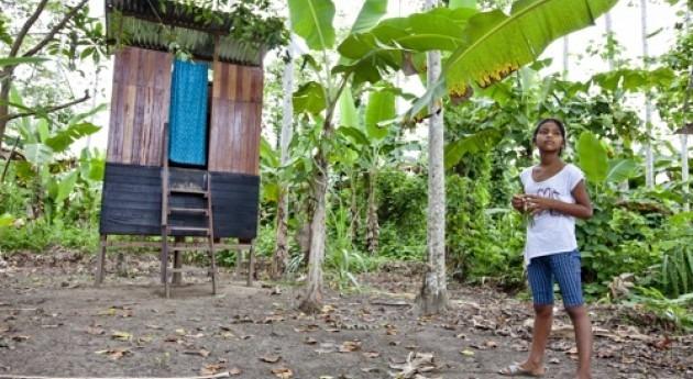 Fundación Aquae y UNICEF instalan baños ecológicos secos Amazonía peruana
