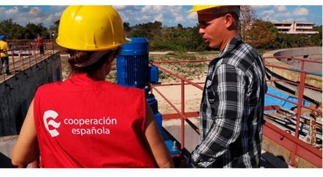 iniciativa AECID impulsa tratamiento aguas residuales Bahía Habana