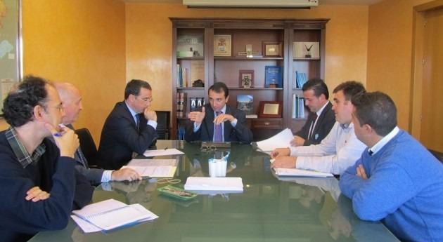 Mancomunidad Aguas Rivera Gata analiza junto CHE asuntos relativos al abastecimiento y riego