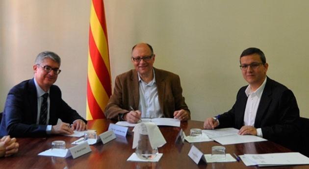 Aguas Barcelona impulsará proyectos economía circular Sant Feliu Llobregat