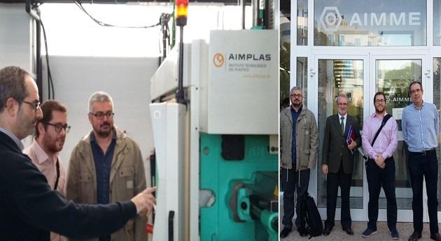 Cátedra FACSA-UJI establece relaciones centros tecnológicos AIMPLAS y AIMME