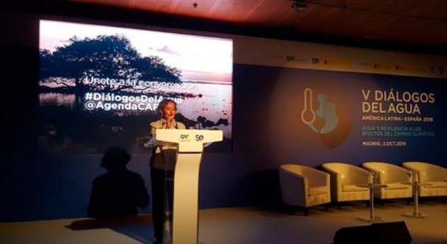 Aina Calvo reafirma compromiso español adaptación al cambio climático América Latina