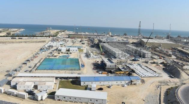 construcción Al-Khobar 1 alcanza cinco millones horas-hombre lesiones