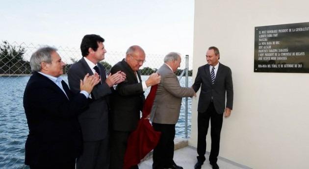 Alberto Fabra preside inauguración infraestructura hidráulica riego Riba-roja Túria