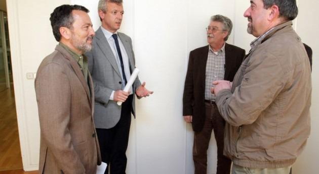 Alfonso Rueda junto a Agustín Hernández en una imagen de archivo