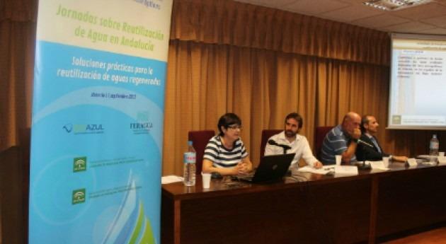 Aqualogy comparte soluciones reutilización aguas regeneradas Almería
